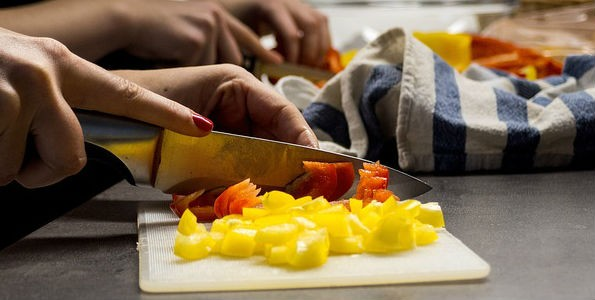 Técnicas para cortar las verduras y hortalizas