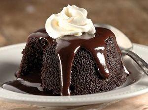 Receta volcán chocolate o coulant
