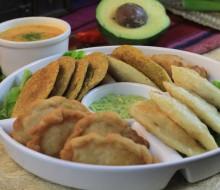 Trilogía de las empanadas ecuatorianas: Viento, Morocho y Verde
