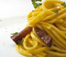 Spaghetti alla carbonara de Andrea Tumbarello